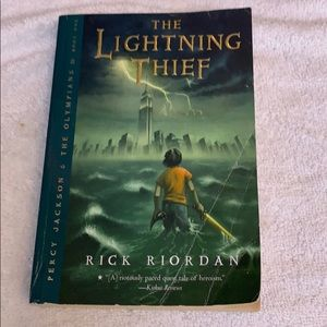Other - The Lightning Thief paperback book